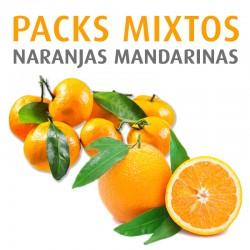 Misch Orangen und Mandarinen 10kg.