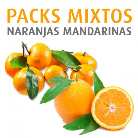 Mixta Naranjas - Mandarinas 10kg.