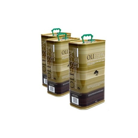 Aceite de Oliva Virgen en envase de 4L OLIESPAL